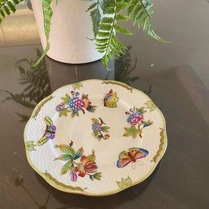 🌟Herend Queen Victoria Green Plate